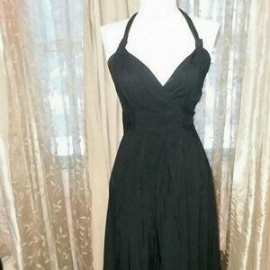 Express NEW wrap halter dress